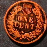 Counterfeit 1873 Indian Head Cent