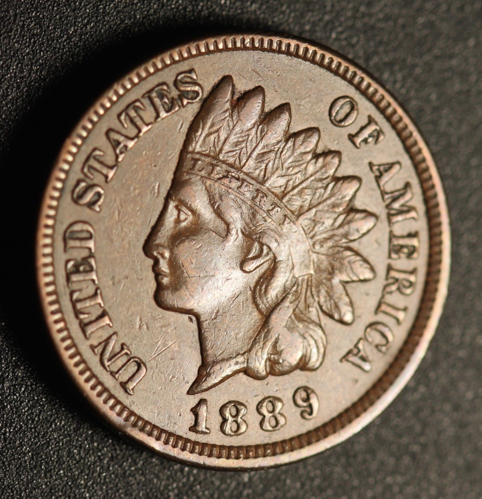1889 RPD-002 - Indian Head Penny - Photo Courtesy of Ed Nathanson