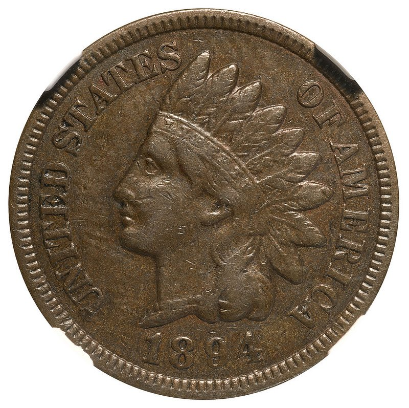 1894 MPD-001 - Indian Head Penny - Photo by Kurt Story