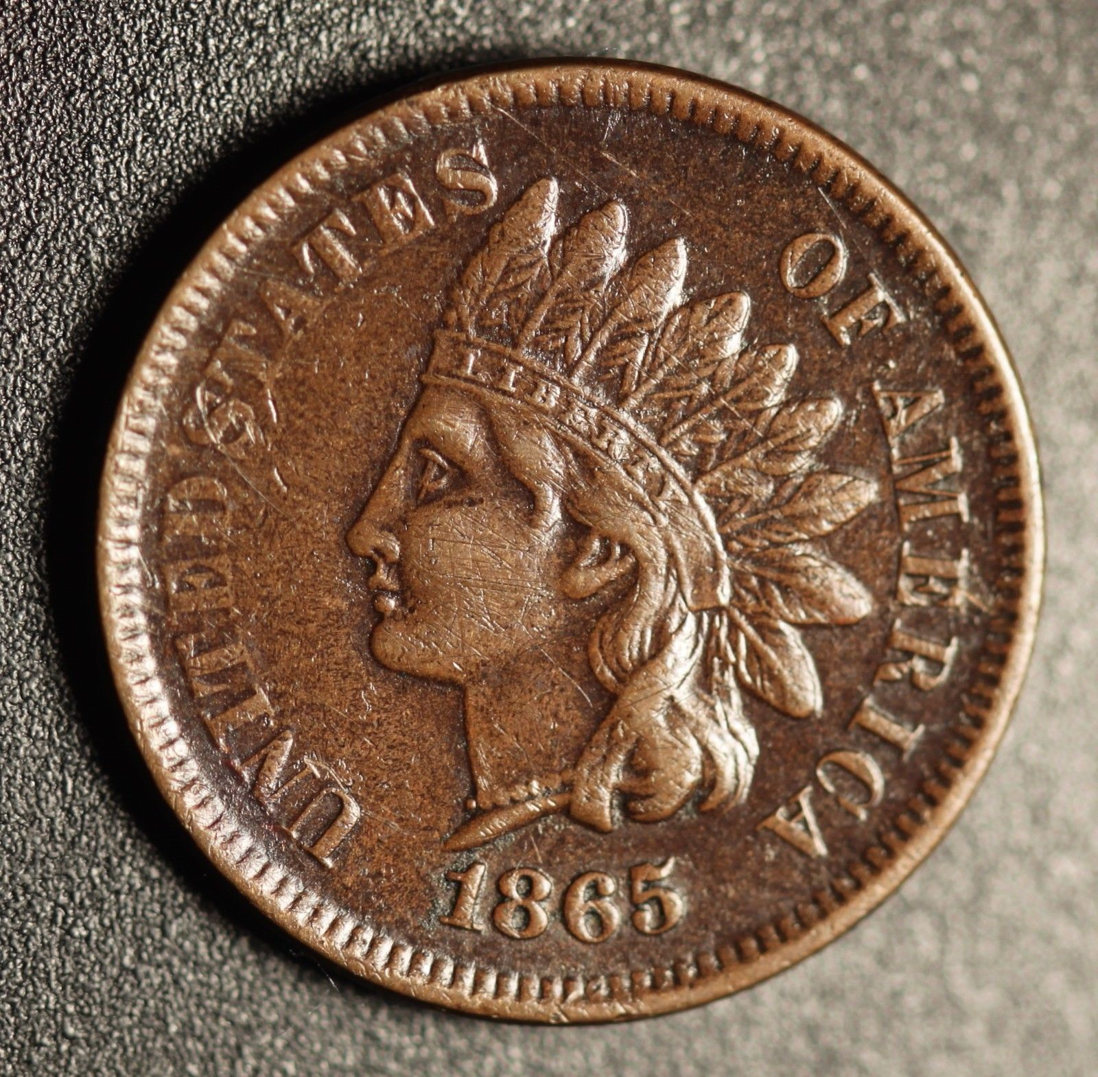1865 ODD-002 Indian Head Penny – Photo by Ed Nathanson