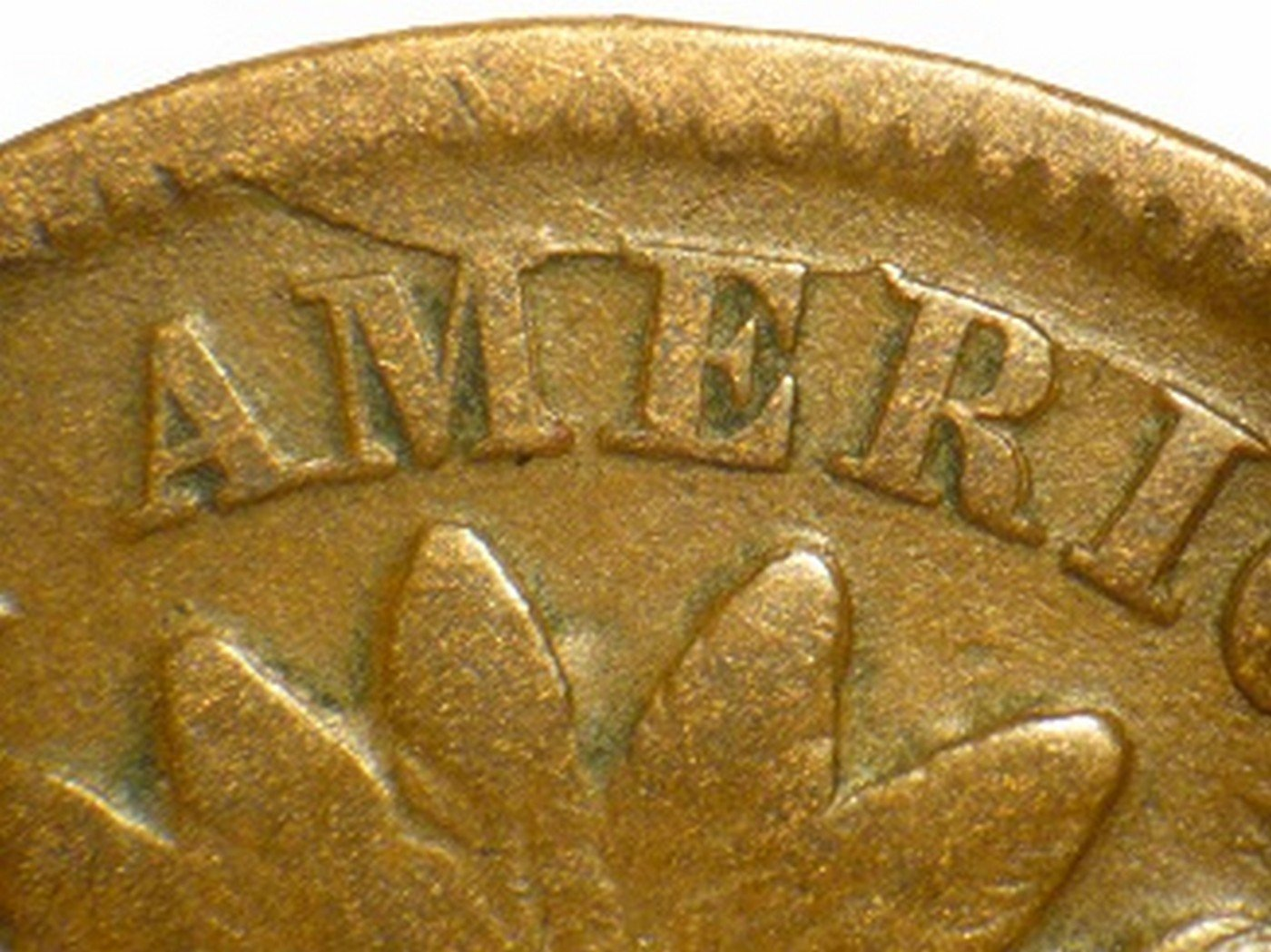 1865 Fancy 5 RPD-005 - Indian Head Penny - Photo by David Poliquin