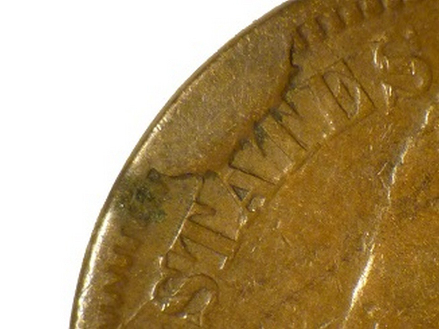 1866 CUD-001 - Indian Head Penny - Photo by David Poliquin