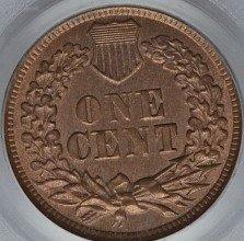 1870 DDR-007 Indian Head Penny - Photos courtesy of Heritage Auctions
