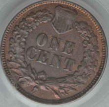 1870 DDR-008 Indian Head Penny - Photos courtesy of Heritage Auctions