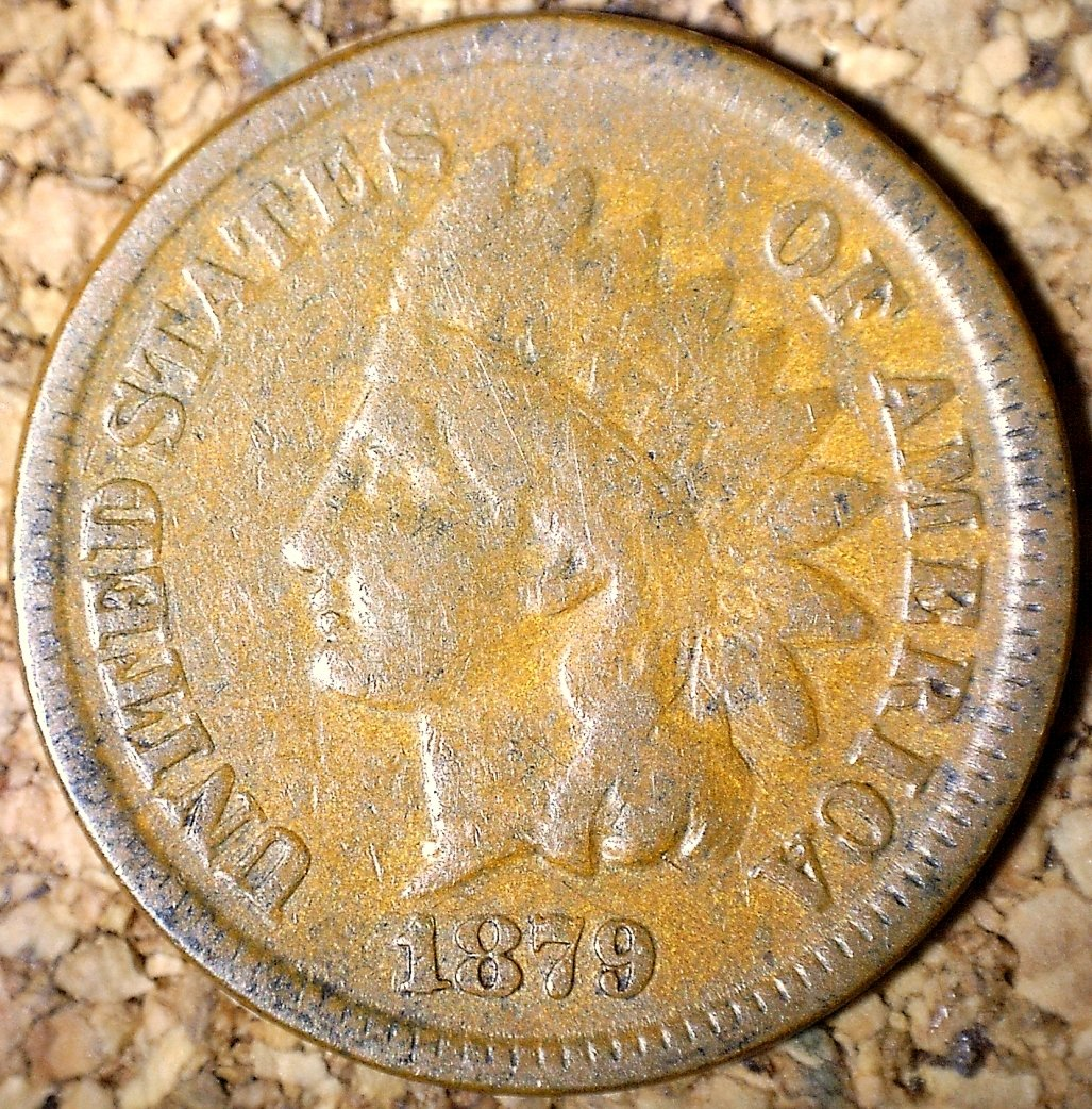 1879 RPD-003 - Indian Head Penny - Photo by David Killough