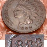 Counterfeit 1883 Indian Cent - Photo provided by Kurt Story