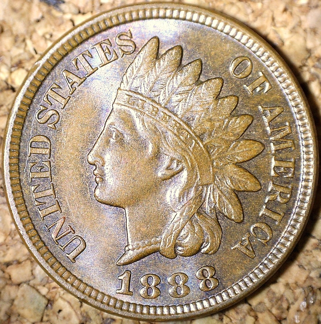 1888 MPD-007, RPD-007 - Indian Head Penny - Photo by David Killough