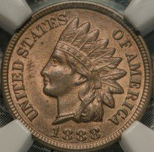 1888 RPD-009 Indian Head Penny - Photo by Kurt Story