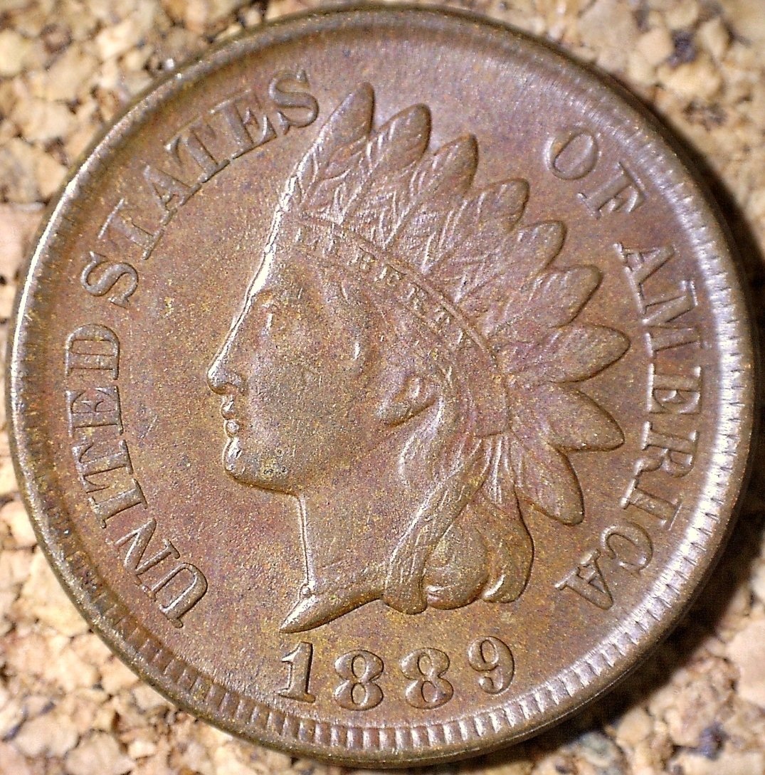 1889 RPD-022 - Indian Head Penny - Photo by David Killough