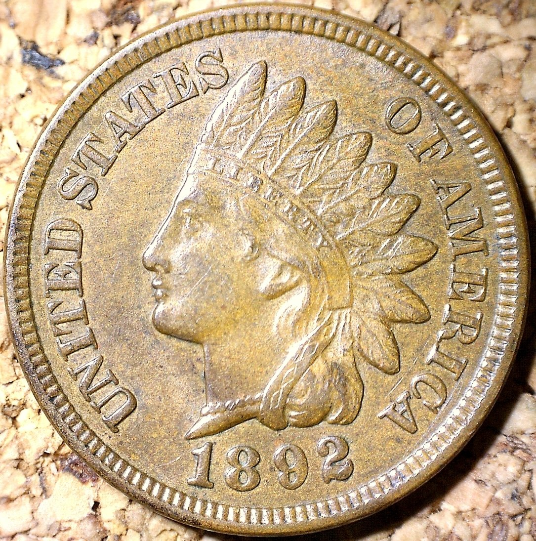 1892 RPD-008 - Indian Head Penny - Photo by David Killough