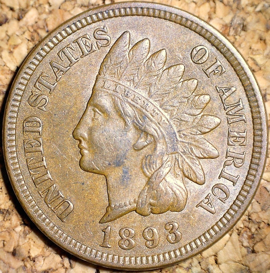 1893 RPD-004 - Indian Head Penny - Photo by David Killough