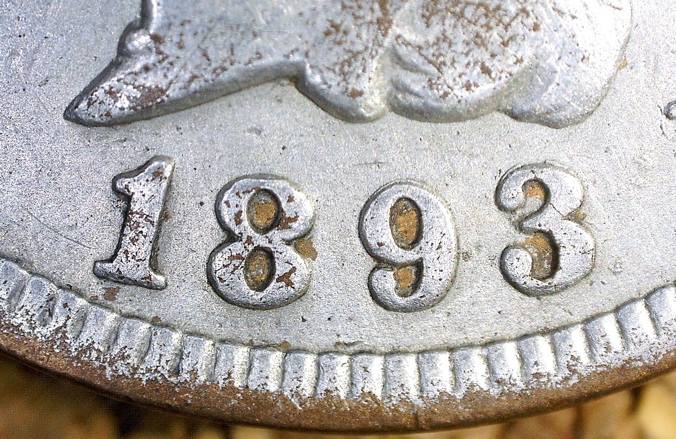 1893 RPD-009 - Indian Head Penny - Photo by David Killough