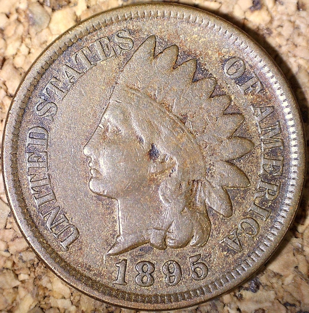 1895 RPD-026 - Indian Head Penny - Photo by David Killough