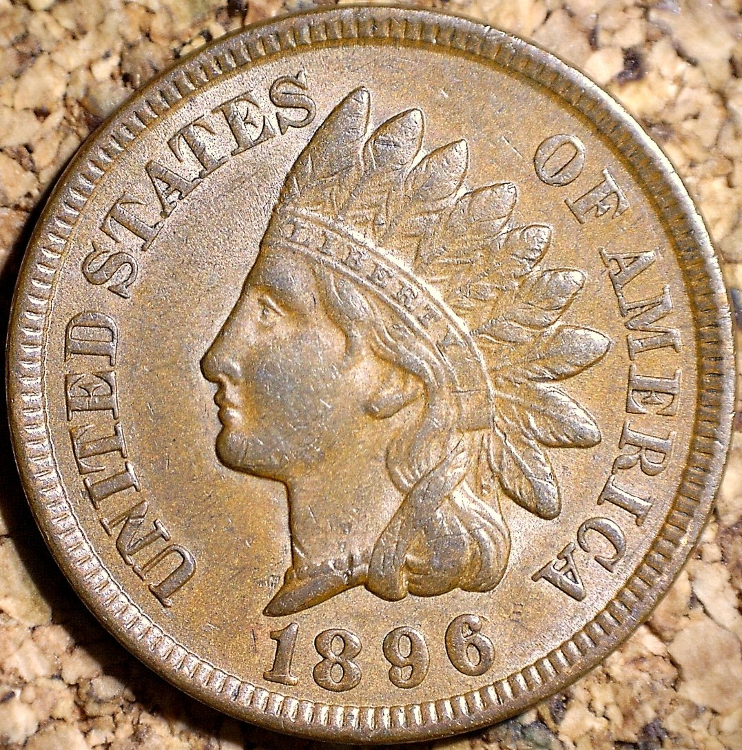 1896 RPD-002 - Indian Head Penny - Photo by David Killough