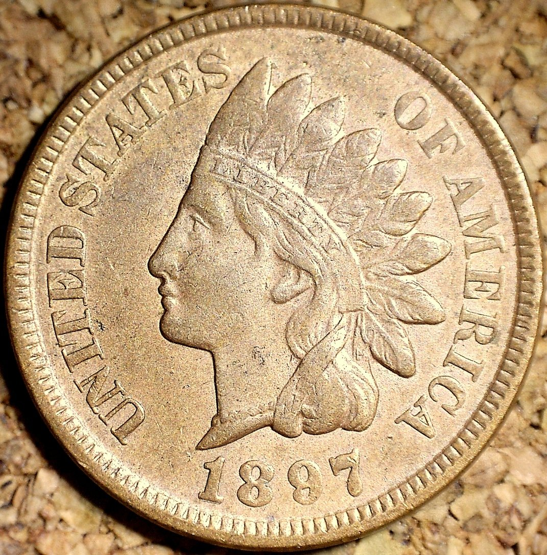 1897 RPD-015 - Indian Head Penny - Photo by David Killough