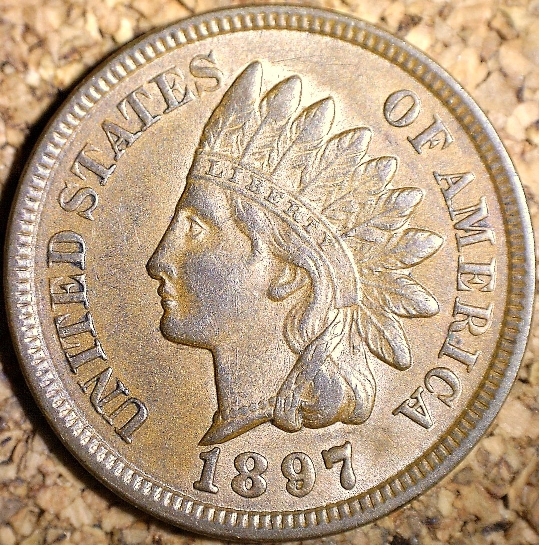 1897 RPD-016 - Indian Head Penny - Photo by David Killough