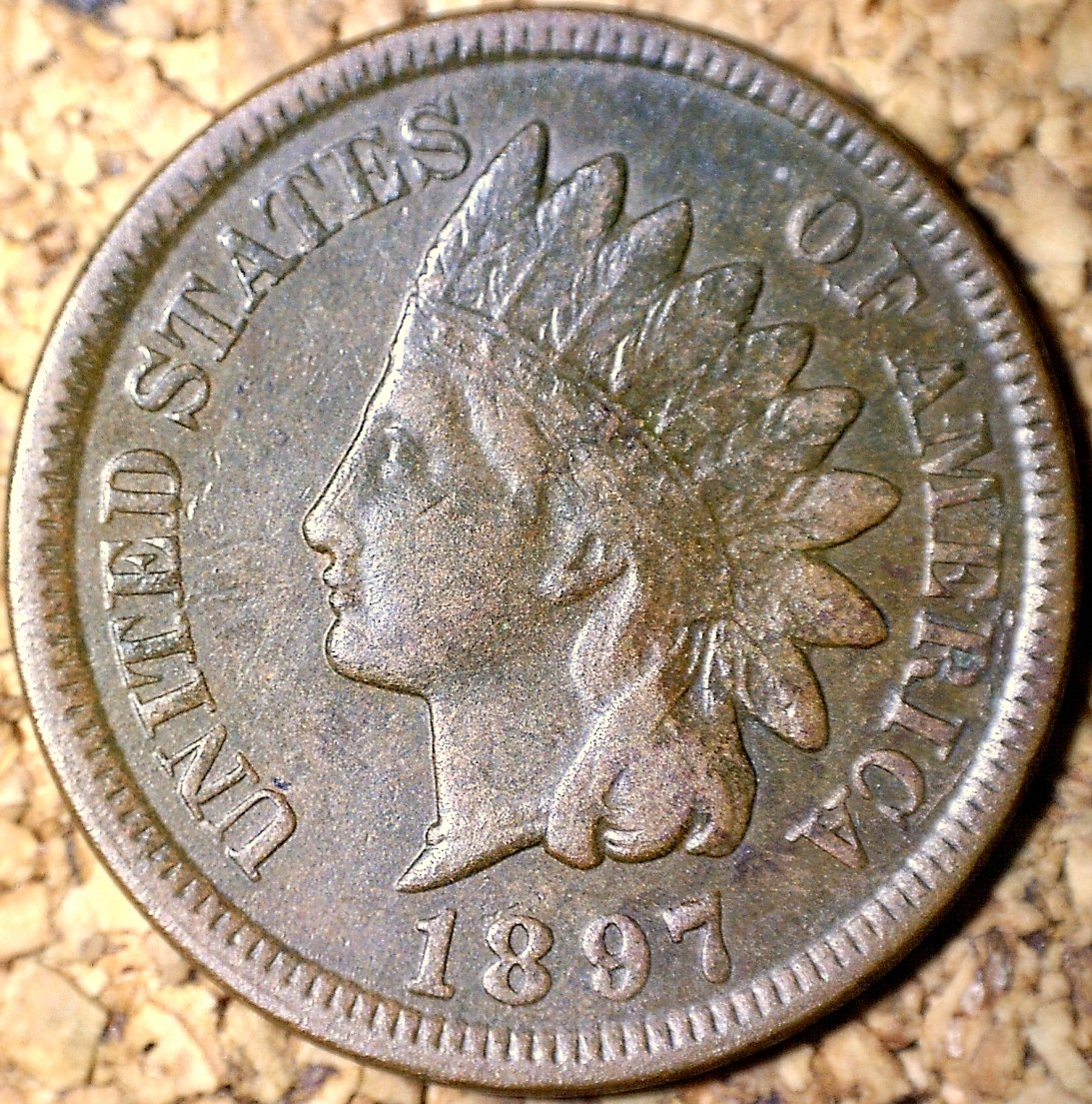 1897 RPD-017 - Indian Head Penny - Photo by David Killough
