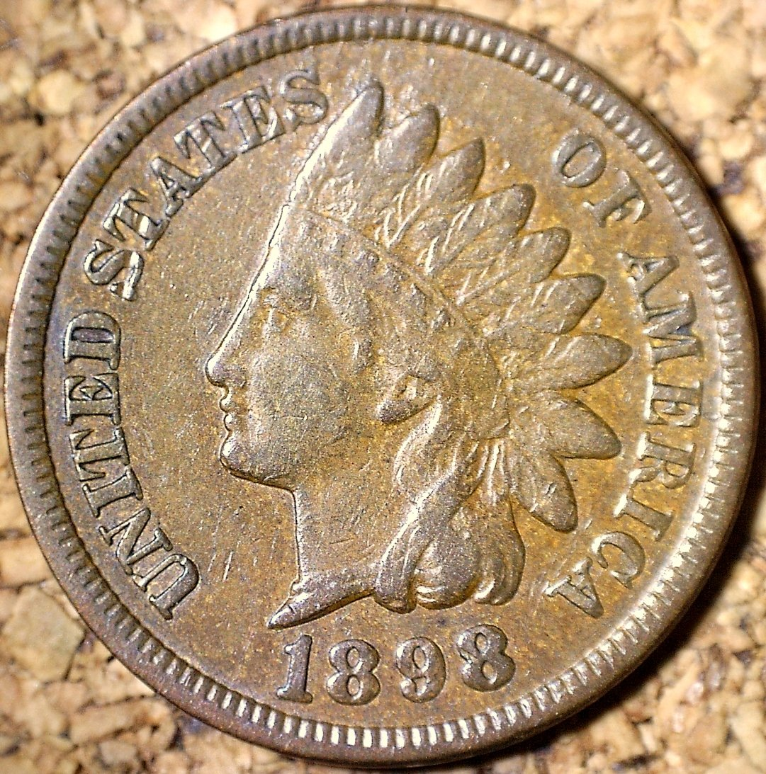 1898 RPD-022 - Indian Head Penny - Photo by David Killough