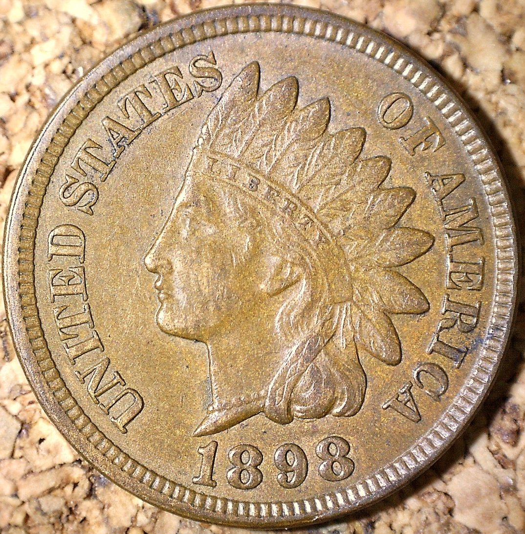 1898 MPD-011 - Indian Head Penny - Photo by David Killough