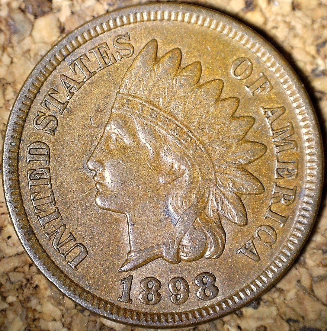 1898 RPD-024 - Indian Head Penny - Photo by David Killough