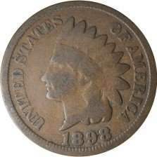 1898 RPD-015 Indian Head Penny - Photo by Kurt Story