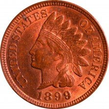 1899 RPD-034 - Indian Head Penny - Photo by ANA Summer Seminar 2016