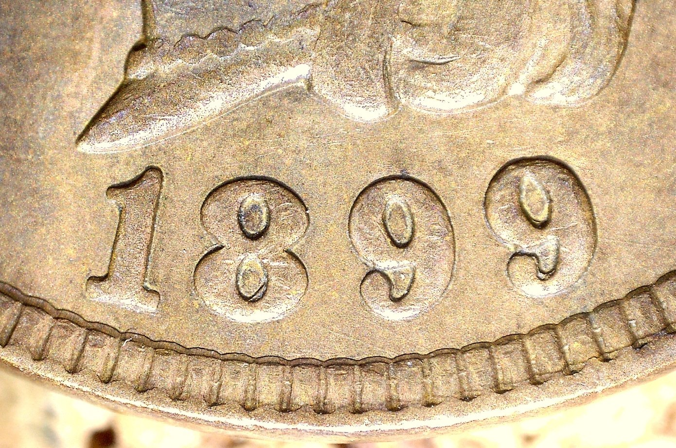 1899 RPD-013 - Indian Head Penny - Photo by David Killough
