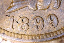 1899 RPD-016 - Indian Head Penny - Photo by David Killough