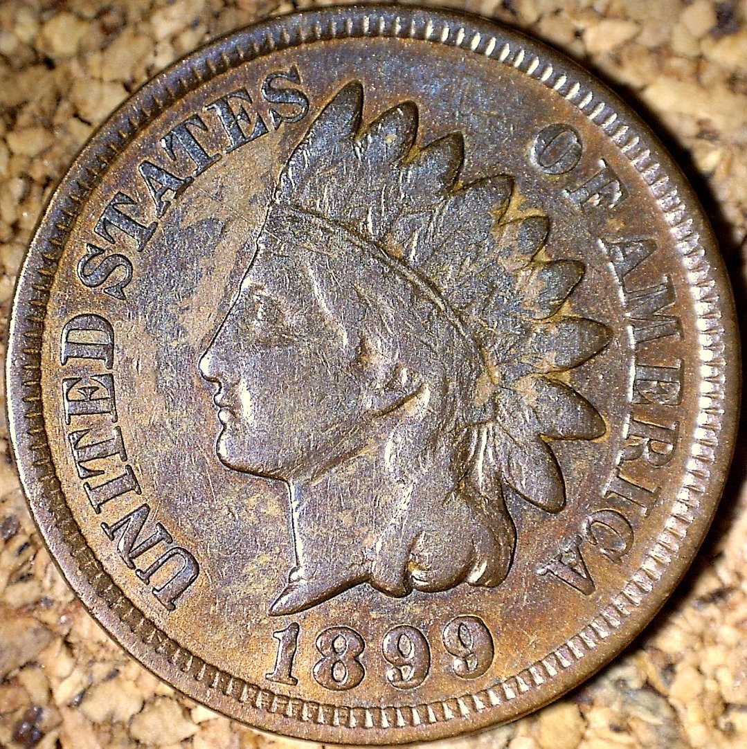 1899 RPD-030 - Indian Head Penny - Photo by David Killough