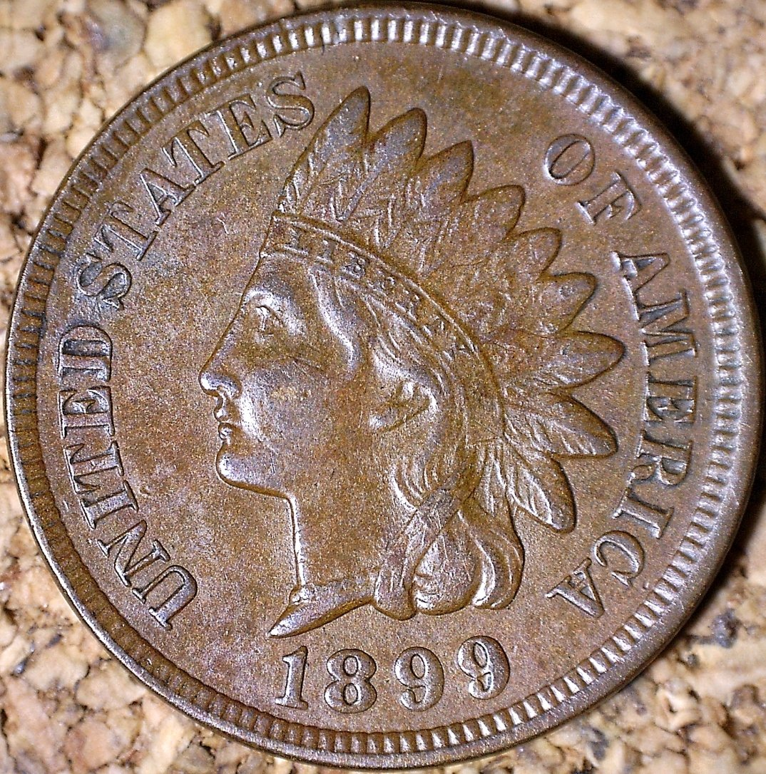 1899 RPD-033 - Indian Head Penny - Photo by David Killough