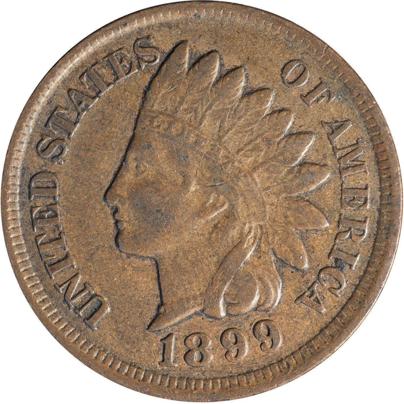 1899 RPD-027 Indian Head Penny - Photo by Kurt Story