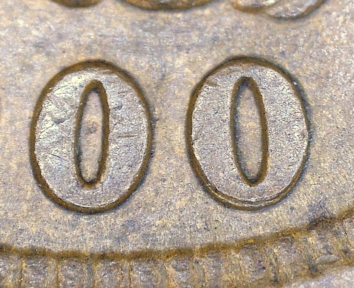 1900 RPD-002 - Indian Head Penny - Photo by David Killough