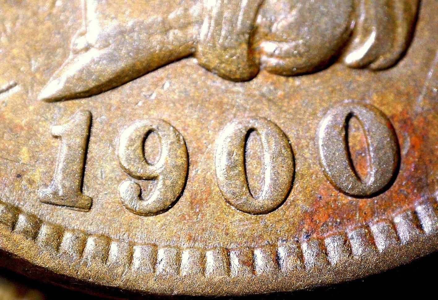 1900 RPD-008 - Indian Head Penny - Photo by David Killough