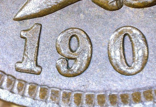 1901 RPD-021 - Indian Head Penny - Photo by David Killough