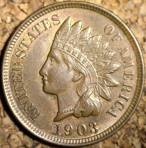 1903 RPD-004 - Indian Head Penny - Photo by David Killough