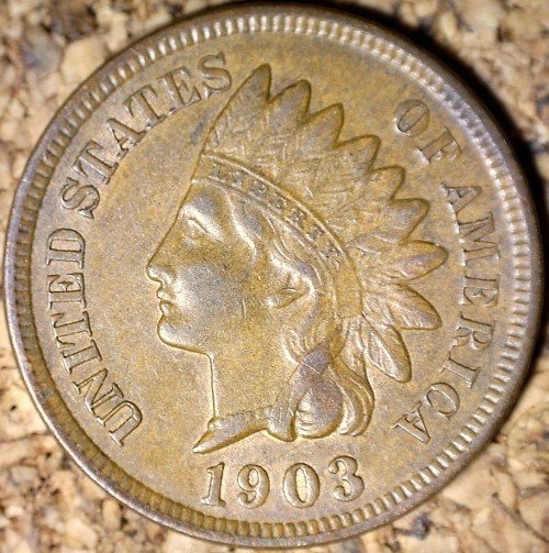 1903 RPD-018 - Indian Head Penny - Photo by David Killough
