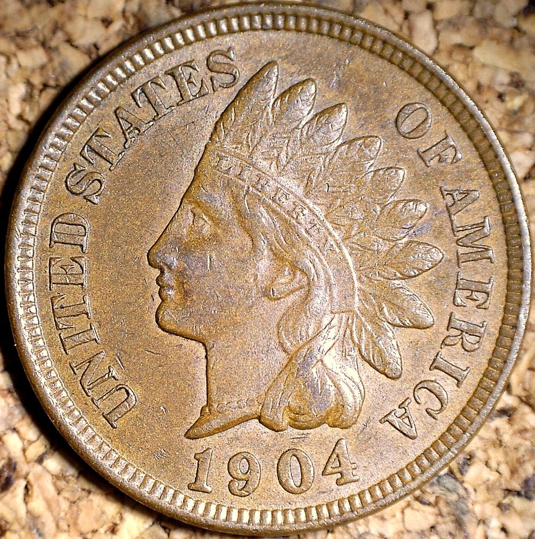 1904 MPD-004 - Indian Head Penny - Photo by David Killough