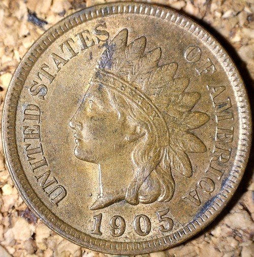 1905 RPD-002 - Indian Head Penny - Photo by David Killough