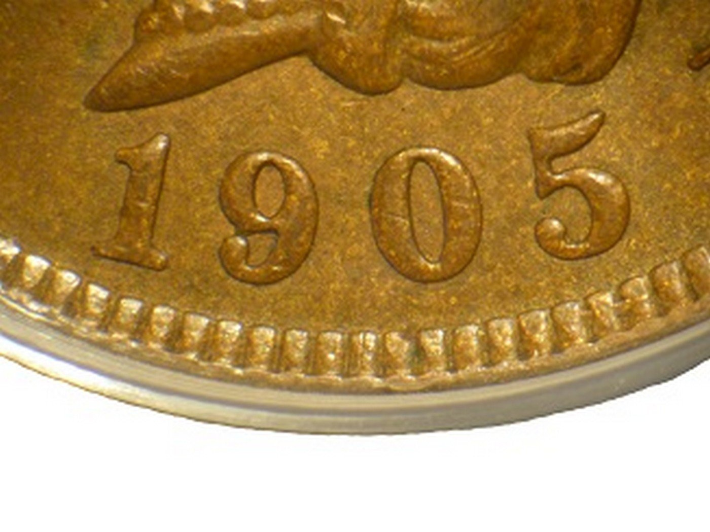 1905 MPD-002 - Indian Head Penny - Photo by David Poliquin
