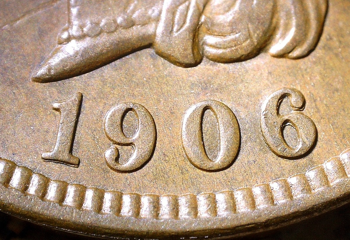 1906 RPD-026 - Indian Head Penny - Photo by David Killough