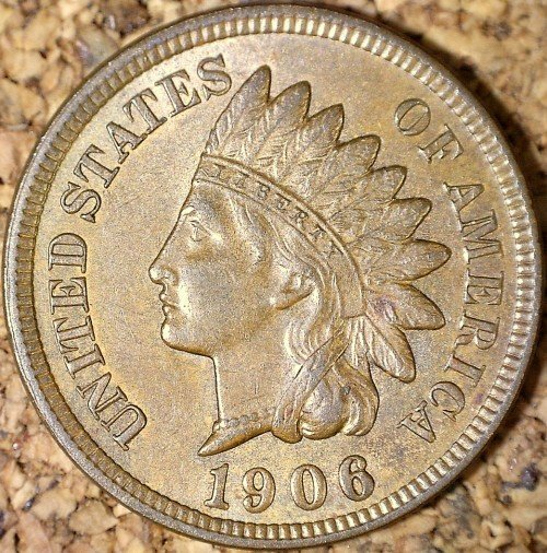 1906 RPD-039 - Indian Head Penny - Photo by David Killough