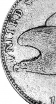1857 MDC-001 Flying Eagle Cent Multi-Denominational Clash