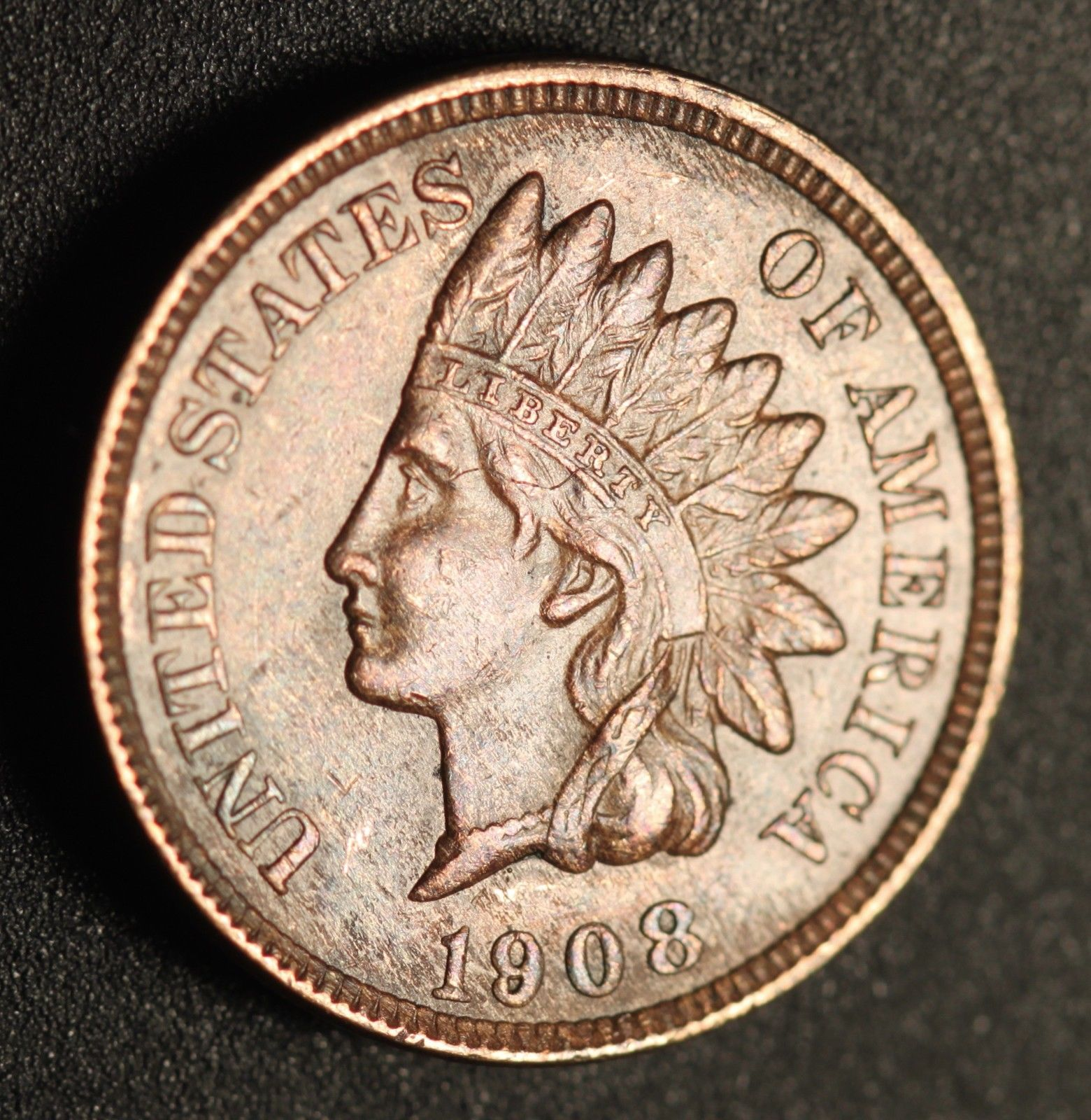 1908 MPD-012, RPD-004 - Indian Head Penny - Photo by Ed Nathanson