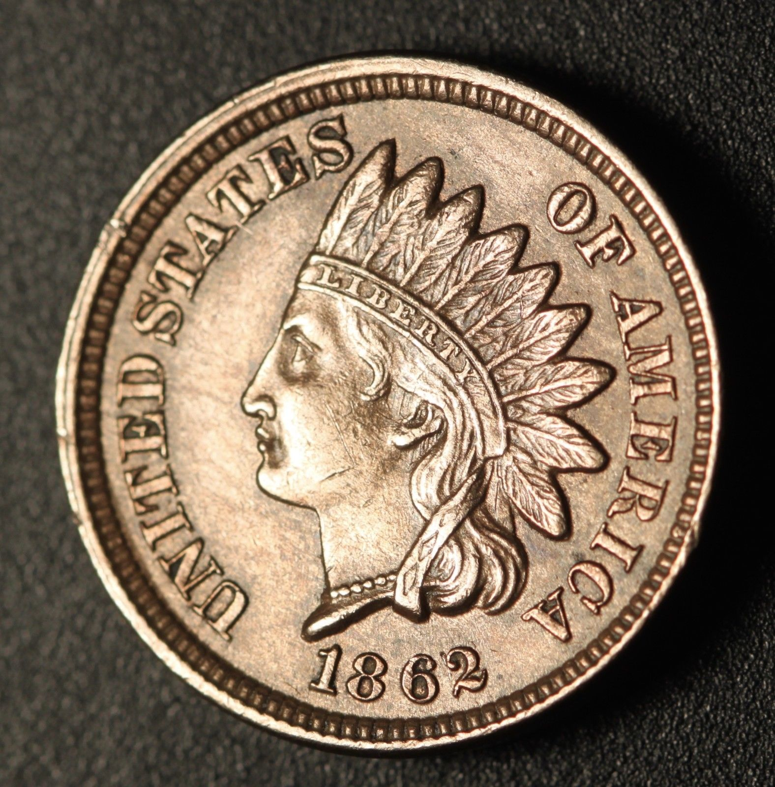 1862 ODD-003 - Indian Head Penny - Photo by Ed Nathanson