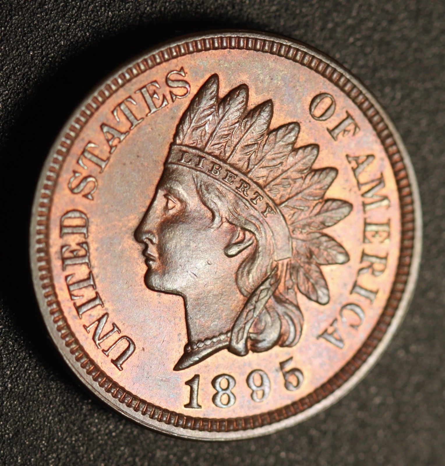 1895 RPD-010 - Indian Head Penny - Photo by Ed Nathanson