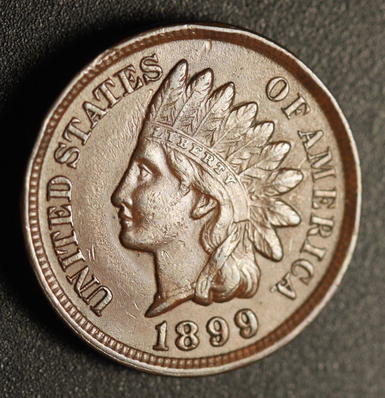 1899 RPD-031 - Indian Head Penny - Photo by Ed Nathanson
