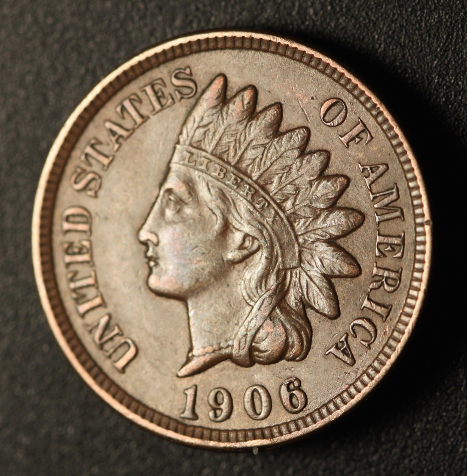 1906 RPD-009 Indian Head Penny - Photo by Ed Nathanson