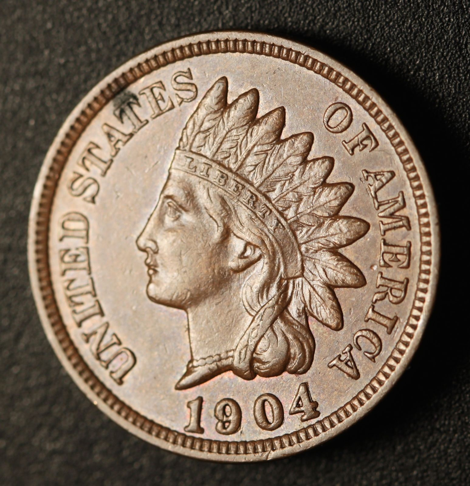 1904 RPD-003 Indian Head Penny - Photo by Ed Nathanson