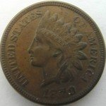 Counterfeit 1870 Indian Cent