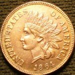 Counterfeit 1864 Indian Cent